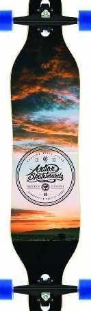 Image 0 of Axis Koa Complete Longboard 40-Inch by Arbor