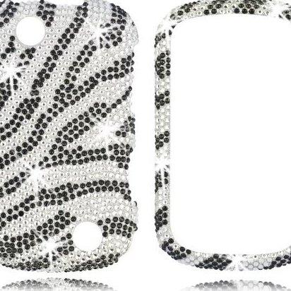 Image 0 of 17187 Full Diamond Bling Phone Shell for Kyocera C5120 Milan by Talon