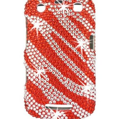 Image 0 of 17134 Full Diamond Bling Phone Shell for Blackberry 9350/936 by Talon