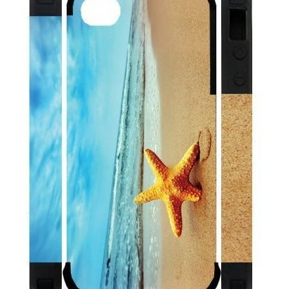 Image 0 of 3D Starfish Running Best Custom Cell Phone Case Cover by Brodie Cases