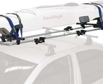Image 0 of 887 SlipStream Kayak Roof Rack Mount Carrier by Thule