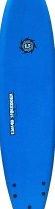 Image 0 of 80 FSE EPS/PE Soft Surf Board Blue 8-Feet by Liquid Shredder