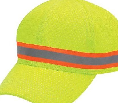 Image 0 of 20349 Lime High-Visibility Head Protection Ball Cap by Jackson Safety
