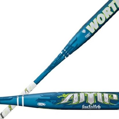 Image 0 of Amp-11 Fast Pitch Bat 30-Inch/19-Ounce by Worth