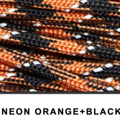 Image 0 of 550lb 8 Strands Cores Reflective Paracord Parachute Cord Lanya by NAVY