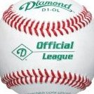 Image 0 of A-Grade Official League Baseball Dozen by Diamond Sports