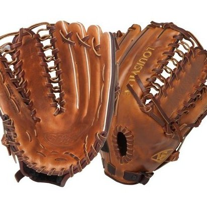 Image 0 of 12.75-Inch FG Omaha Pro Baseball Outfielders Gl by Louisville Slugger