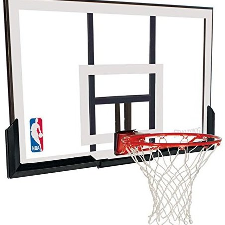Image 0 of 52quot; Backboard and Rim Combo with Acrylic Backboard by Spalding
