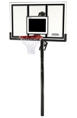 Image 0 of 71525 In-Ground Basketball System with 54-Inch Shatter Gu by Lifetime