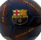 Image 0 of 2014 FC Barcelona Official Soccer Ball-2-Skills Ball-Navy/M by Rhinox