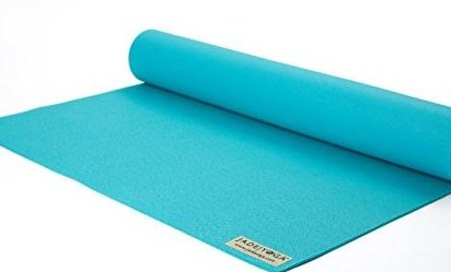 Image 0 of 68quot; Professional Yoga Mat Color: Teal by Jade Yoga