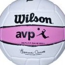 Image 0 of AVP Replica Game Ball VolleyballPink by Wilson