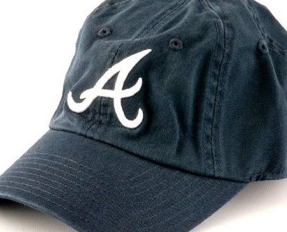 Image 0 of Atlanta Braves MLB Baseball Cap One Size  Cotton Tw by American Needle
