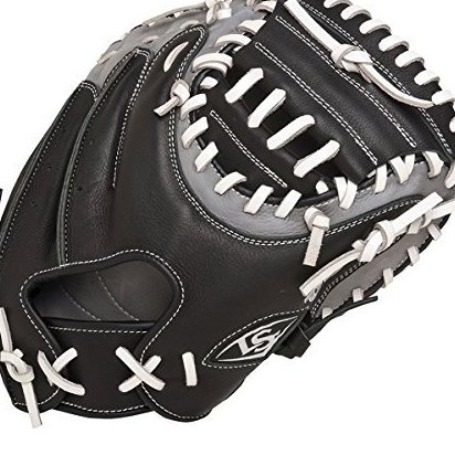 Image 0 of 32.5-Inch FG Omaha Select Catchers Mitts Black by Louisville Slugger