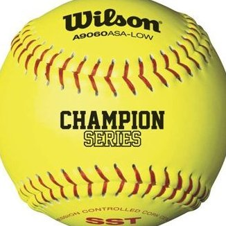 Image 0 of ASA 47 COR Girls Fast Pitch Synthetic Softballs 11 Inch by Wilson