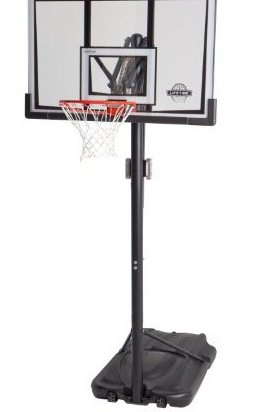 Image 0 of 52-Inch Shatter-Proof Backboard with Portable Basketball by Lifetime