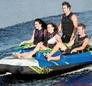 Image 0 of Atomic Boat Towable 4 Person Staggered Seating Tube and by HO Sports