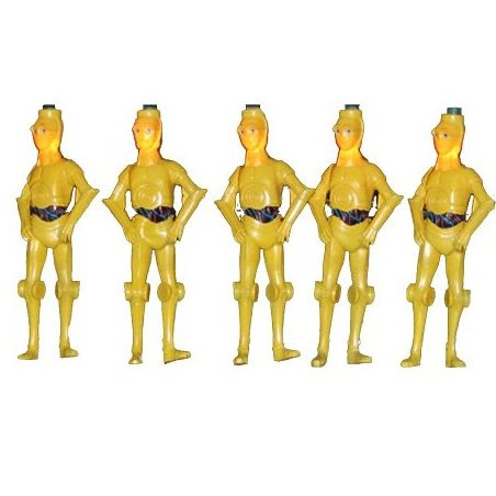 10-Light C3PO Full Figure Light Set 4.5-Inch by Star Wars