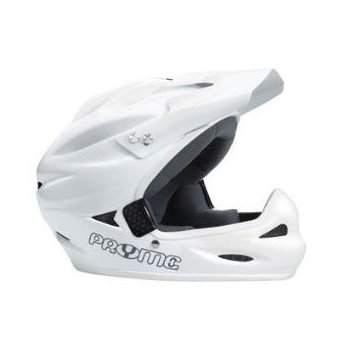 Image 0 of AL Full Face Helmet with White Trim White Large/X-Large by Pryme