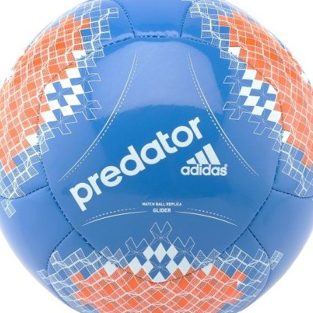 Image 0 of Adidas Predator Glider Soccer Ball 4 Pride Blue by adidas