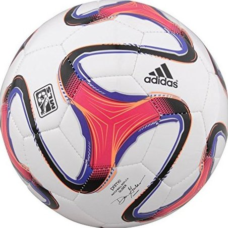 Image 0 of 2014 MLS Glider Soccer Ball Size 5 White Orange Purple by adidas