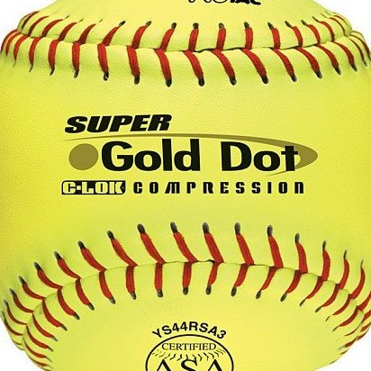 Image 0 of 12-Inch Slowpitch Ys44rsa3 Protac ASA BallDozen by Worth