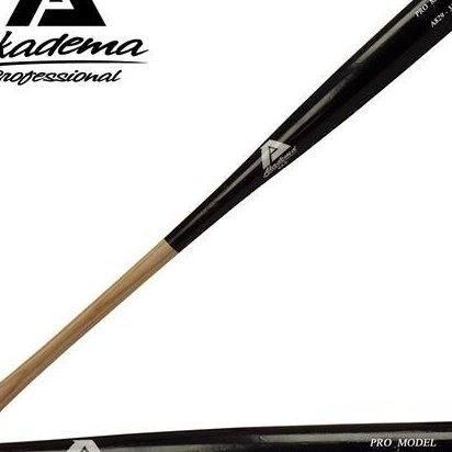 Image 0 of A843-34 Pro Level Quality Adult Amish Wood Baseball Bat 34 by Akadema