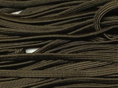 Image 0 of 100ft Walnut Brown 650 Coreless Flat Paracord Paraline by PepperLonely
