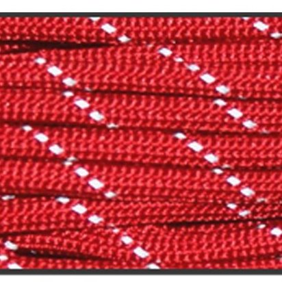Image 0 of 550lb 8 Strands Cores Reflective Paracord Parachute Cord Lan by Yougle