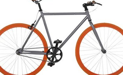 Image 0 of 50cm Track Fixed GEAR BIKE Fixie Single Speed ROAD BIKE Bla by Vilano