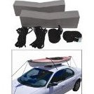 Image 0 of Attwood Marine 11438-7 / Attwood Kayak Car-Top Carrier Kit by attwood