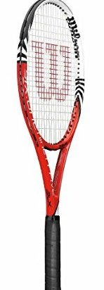Image 0 of 2012 Six.One 95 16 x 18 BLX Tennis Racquet - Red/White/Bl by Wilson