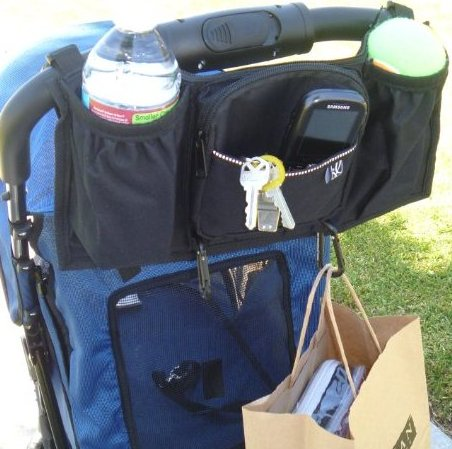 Image 0 of Bones N Bags Pet Stroller Organizer and Drink Holder by LuElla