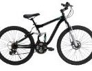Image 0 of 26-Inch Ladies DS-7 Dual Suspension Bike Black by Huffy
