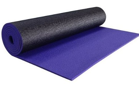 1/4 Extra Thick High Density Yoga Mat - 74quot; by YogaAccessories TM