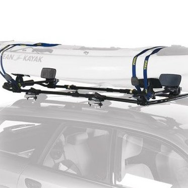 Image 0 of 877xt Roller Coaster Kayak Roof Rack Mount Carrier by Thule