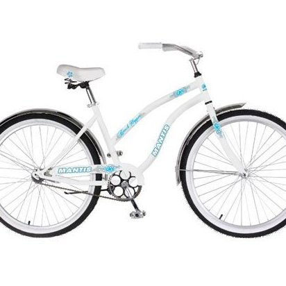 Image 0 of 26in Beach Hopper Womens Beach Cruiser Bike by Mantis
