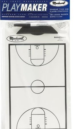 Image 0 of Basketball Playmaker Markerboard 9quot; X 15.75quot; size by Markwort