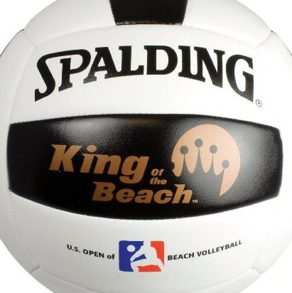 Image 0 of 72-085 Replica Beach Volleyball of King of the Beach by Spalding