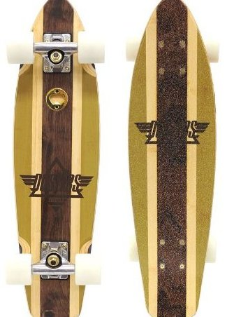 Image 0 of 27quot; Ace High Bamboo Cruiser Gold/Bamboo Longboards by Dusters