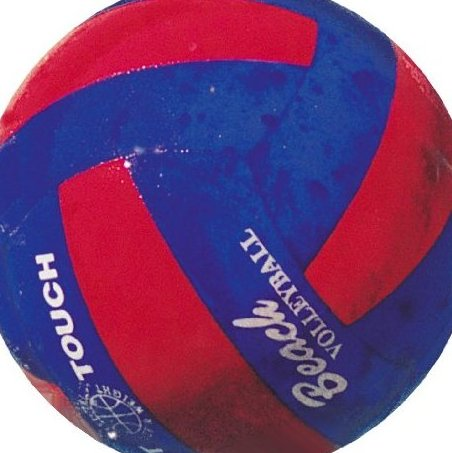 Image 0 of Beach Soft Touch Volleyball in Red  Blue by Water Gear