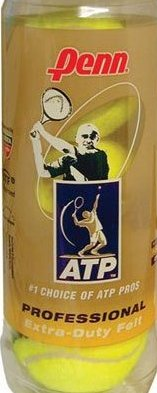 Image 0 of ATP Extra Duty Tennis Balls 1 Dozen4 Tubes of 3 Balls12 Ba by Penn