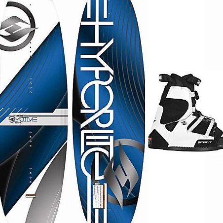 Image 0 of 2013  Motive Jr. Wakeboard with Sprint Boots Bindings - 1 by Hyperlite