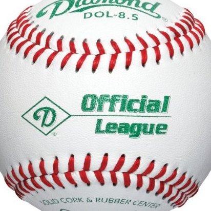 Image 0 of 8.5-Inch Training Baseball Dozen by Diamond Sports