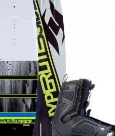Image 0 of 2014  140 B-Side Wakeboard w/Team OT Boot 7-10.5 by Hyperlite