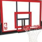 Image 0 of 79354 Backboard/Rim Combo with 48-Inch PolyCarbonate Back by Spalding