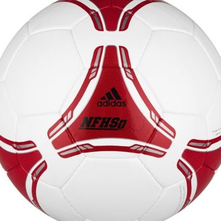 Image 0 of Adidas Fifa 2012 NFHS Club Ball White Light Scarlet Size by adidas