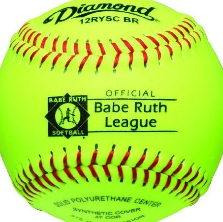 Image 0 of 12-Inch Optic Super Synthetic Cover Babe Ruth Softb by Diamond Sports