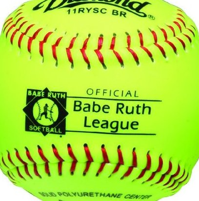 Image 0 of 11-Inch Optic Super Synthetic Cover Babe Ruth Softb by Diamond Sports