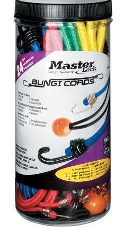 Image 0 of 3023at Assorted Bungee Cords 24-Pack by Master Lock